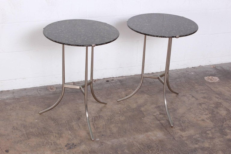 Pair of Side Tables by Cedric Hartman For Sale 3