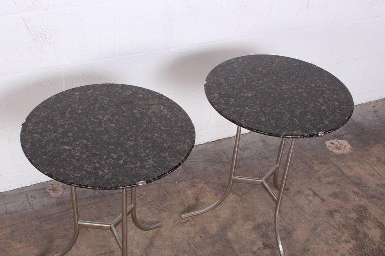 Pair of Side Tables by Cedric Hartman For Sale 4
