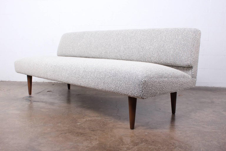 Armless Sofa by Edward Wormley for Dunbar In Excellent Condition For Sale In Dallas, TX