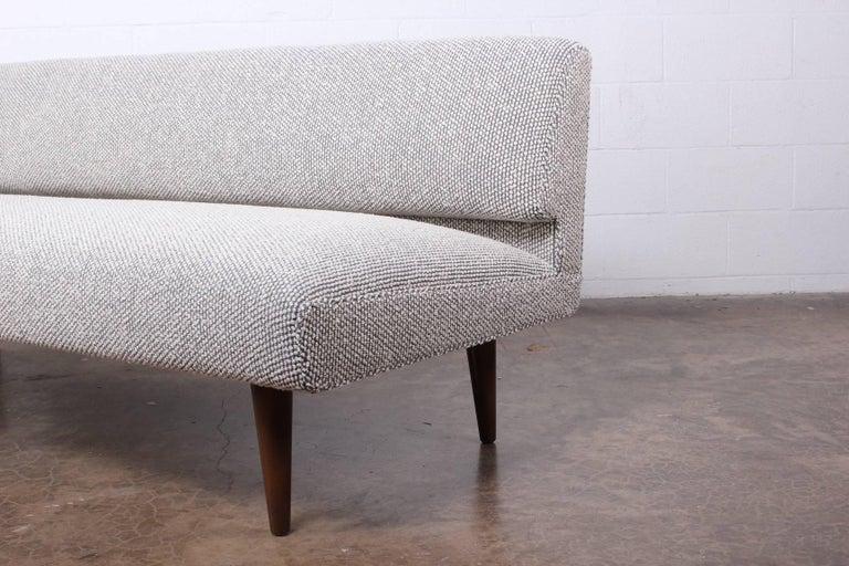 Mid-20th Century Armless Sofa by Edward Wormley for Dunbar For Sale