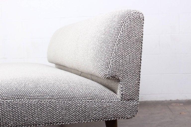 Armless Sofa by Edward Wormley for Dunbar For Sale 5