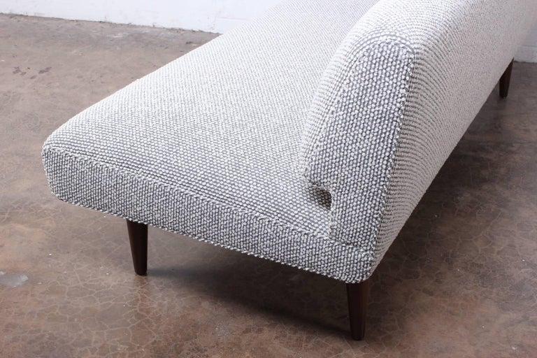 Armless Sofa by Edward Wormley for Dunbar For Sale 9