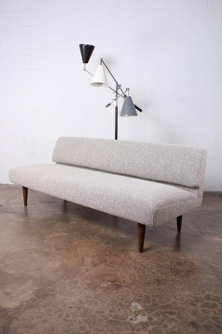 Armless Sofa by Edward Wormley for Dunbar For Sale 10