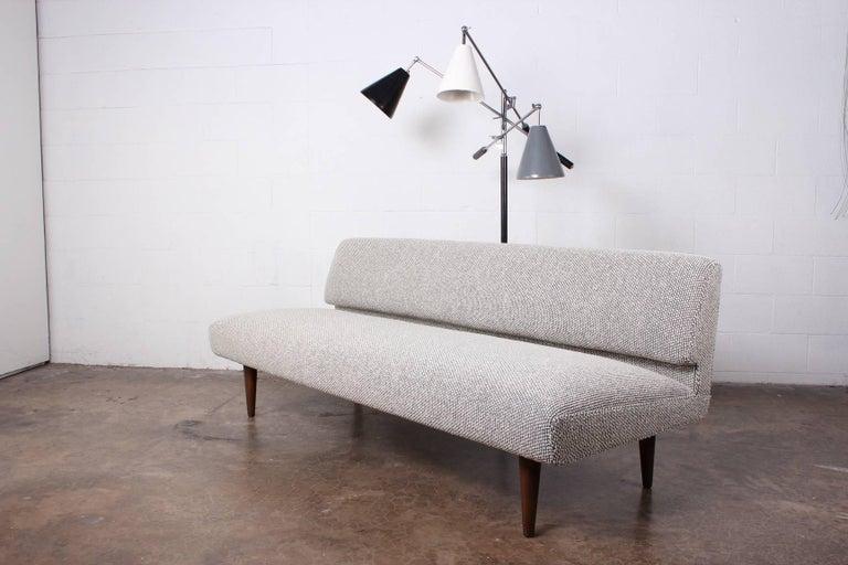 Armless Sofa by Edward Wormley for Dunbar For Sale 11