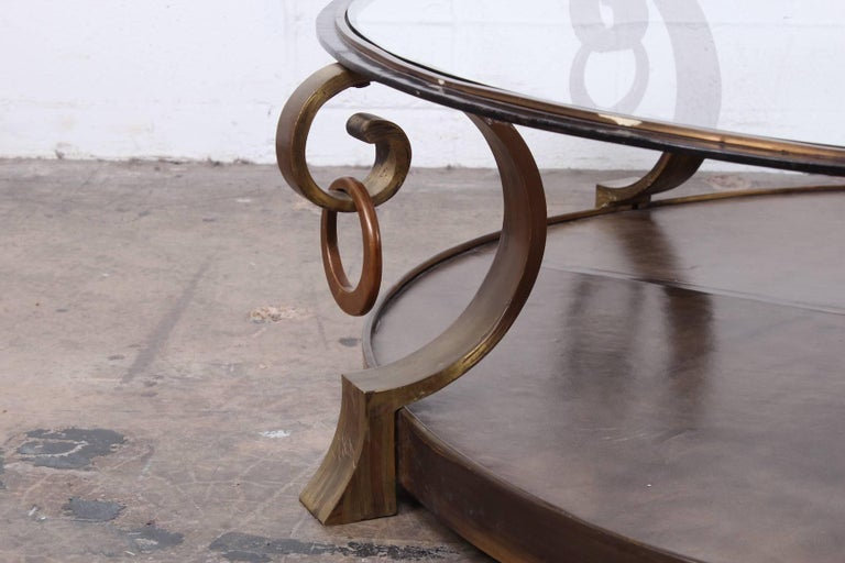 Bronze Coffee Table by Arturo Pani For Sale 1