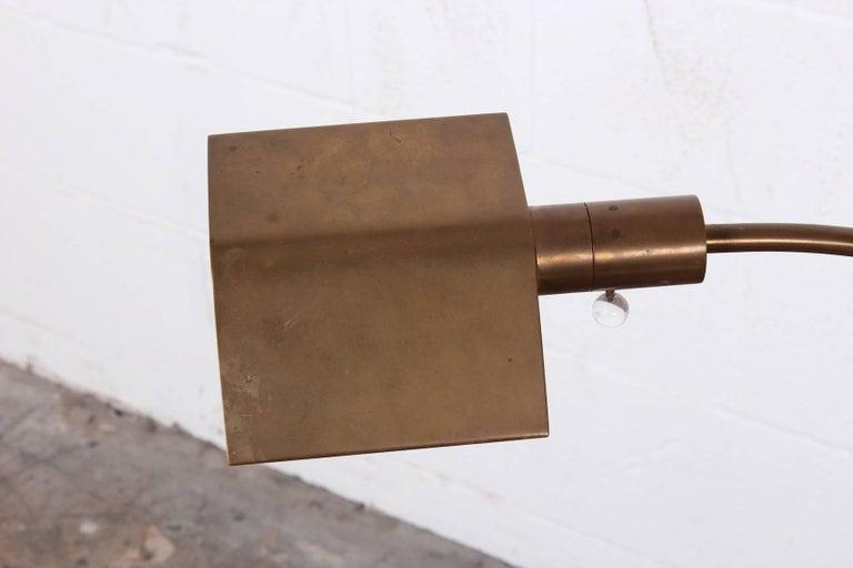 Brass Floor Lamp by Cedric Hartman For Sale 4
