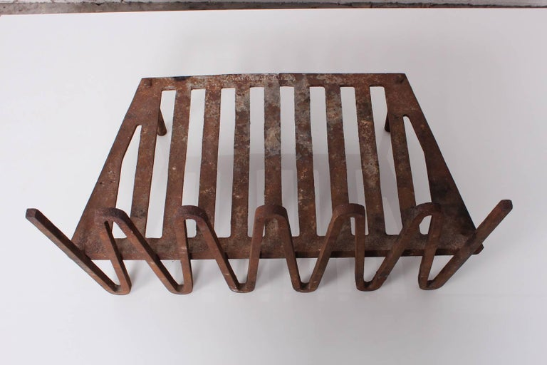 Mel Bogart Fire Grate or Andirons For Sale 4