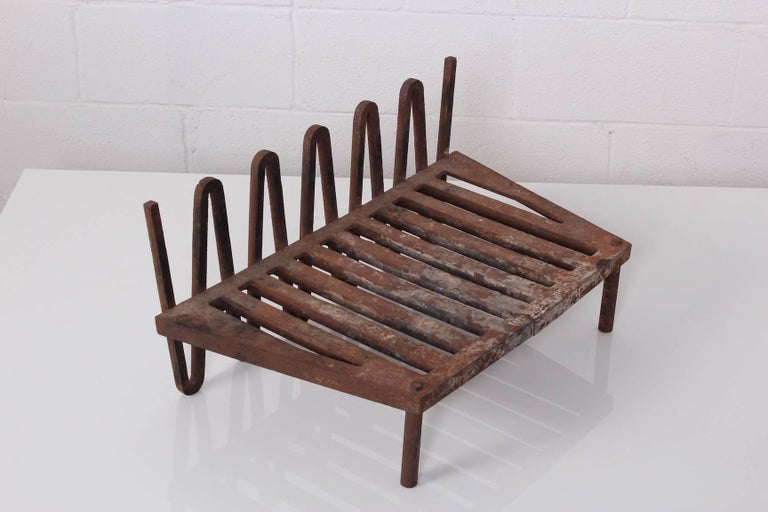 Mel Bogart Fire Grate or Andirons For Sale 7