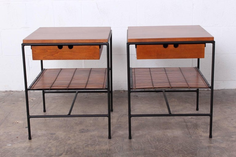 Pair of Nightstands by Paul McCobb In Good Condition For Sale In Dallas, TX