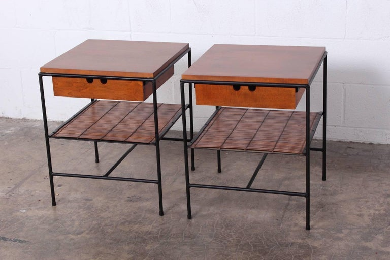 Mid-20th Century Pair of Nightstands by Paul McCobb For Sale