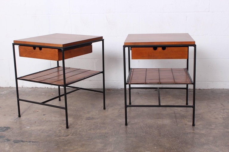 Pair of Nightstands by Paul McCobb For Sale 1