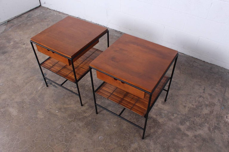 Pair of Nightstands by Paul McCobb For Sale 6