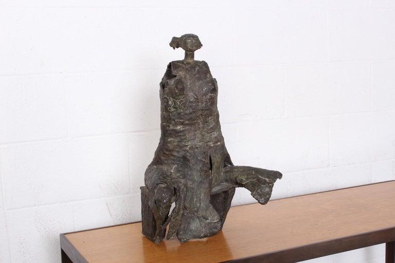 Bronze Sculpture by George Mallett, 1967 For Sale 2