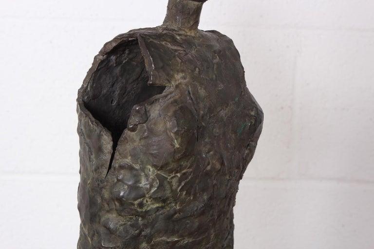 Bronze Sculpture by George Mallett, 1967 For Sale 7