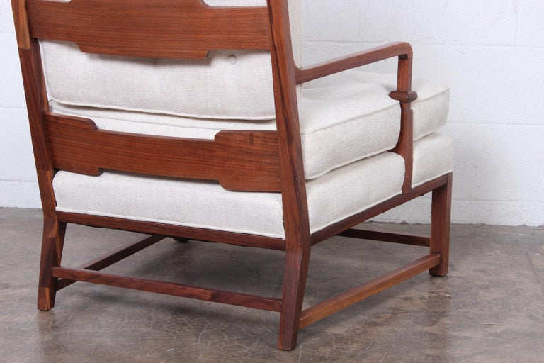 Throne Lounge Chair by Tommi Parzinger For Sale 7