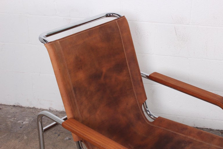 Marcel Breuer S35 Lounge Chair and Ottoman For Sale 1