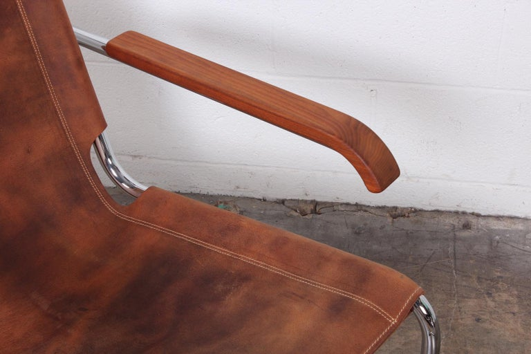 Marcel Breuer S35 Lounge Chair and Ottoman For Sale 2