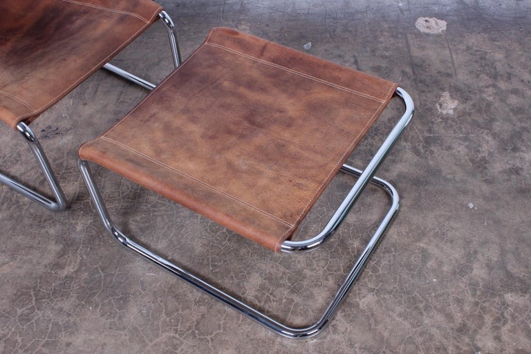 Marcel Breuer S35 Lounge Chair and Ottoman For Sale 3