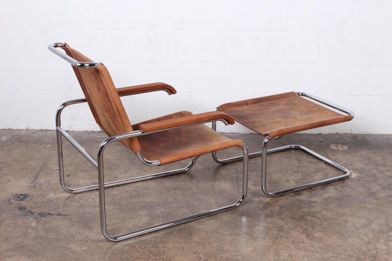 Marcel Breuer S35 Lounge Chair and Ottoman For Sale 5