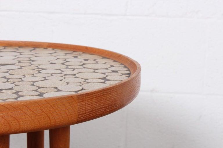 Pair of Tile Tables by Gordon Martz For Sale 5