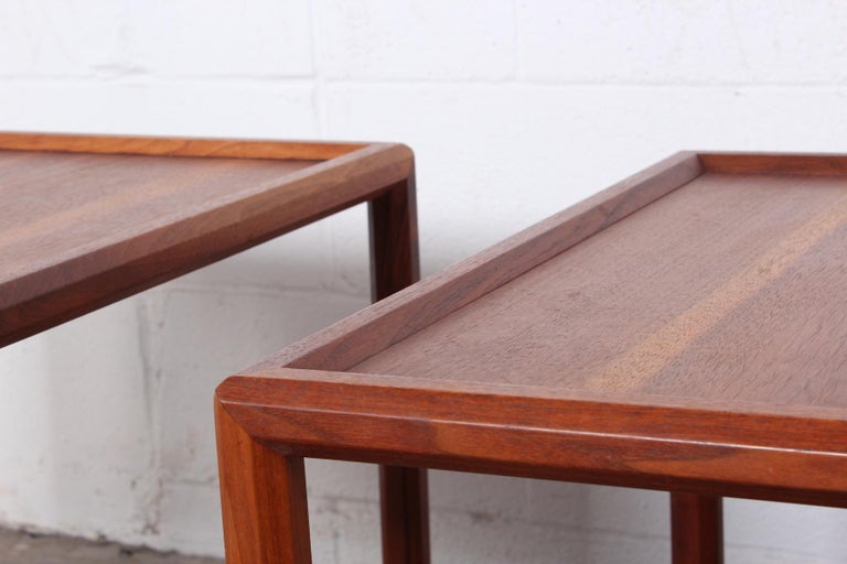 Pair of Tables by Edward Wormley for Dunbar For Sale 3