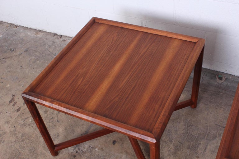 Pair of Tables by Edward Wormley for Dunbar For Sale 4