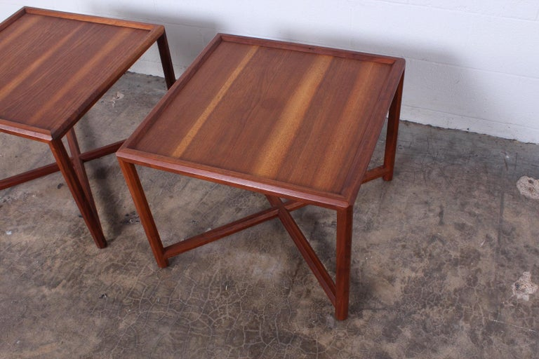 Pair of Tables by Edward Wormley for Dunbar For Sale 7