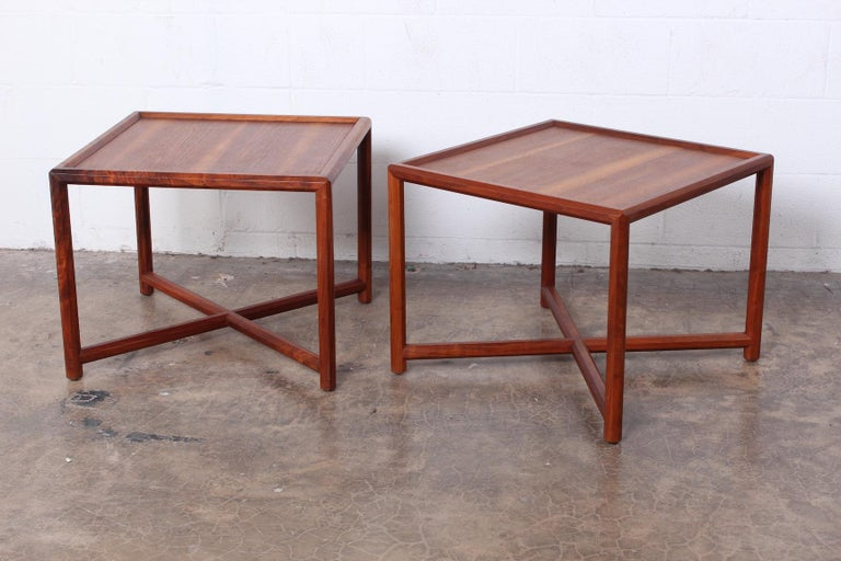 Pair of Tables by Edward Wormley for Dunbar For Sale 8