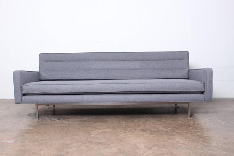 Convertible Sofa Or Daybed By Richard Shultz For Knoll In Excellent  Condition For Sale In Dallas