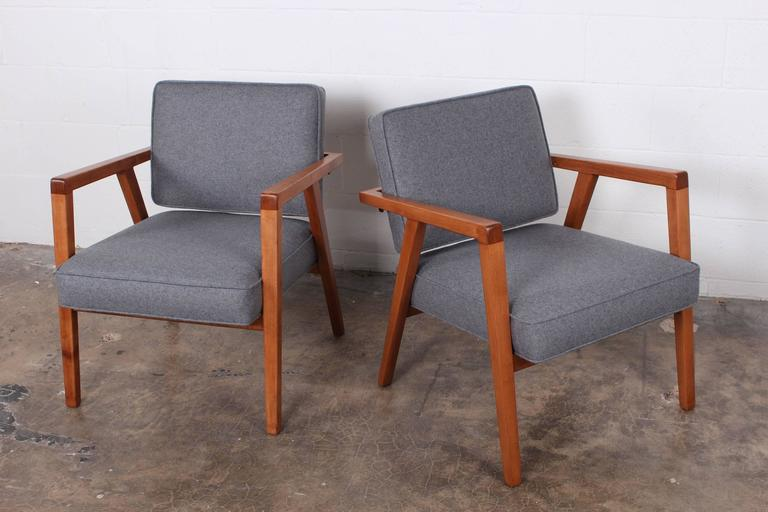 Pair of Lounge Chairs by Franco Albini For Sale 6