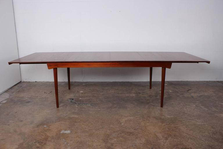 Solid Teak Dining Table Designed by Finn Juhl For Sale 1
