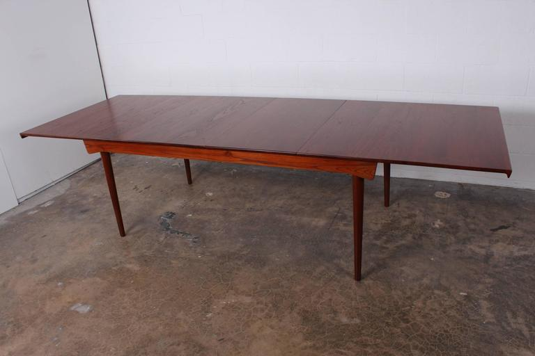 Mid-20th Century Solid Teak Dining Table Designed by Finn Juhl For Sale