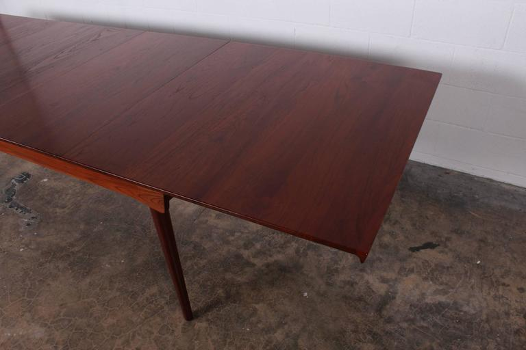Solid Teak Dining Table Designed by Finn Juhl For Sale 2