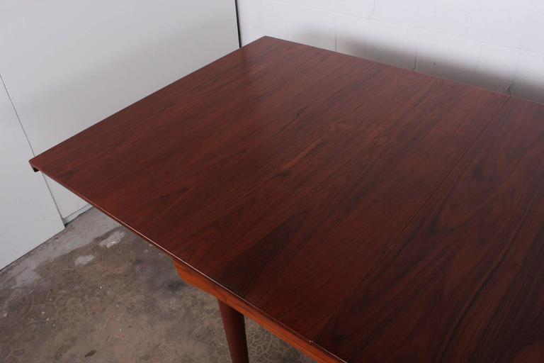 Solid Teak Dining Table Designed by Finn Juhl For Sale 6
