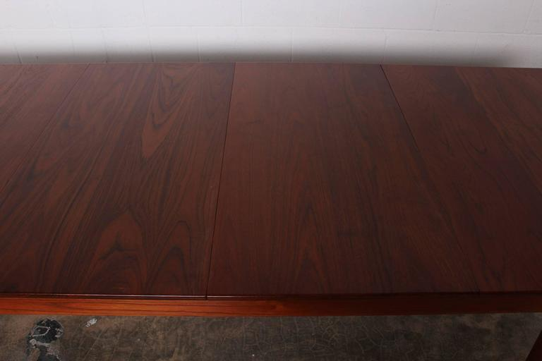 Solid Teak Dining Table Designed by Finn Juhl For Sale 4