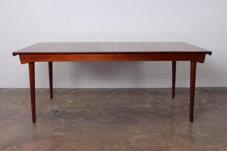 Solid Teak Dining Table Designed by Finn Juhl For Sale 5