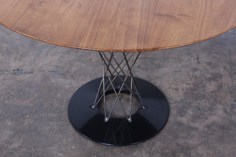 Cyclone dining table with walnut top by isamu noguchi at 1stdibs - Isamu noguchi table basse ...