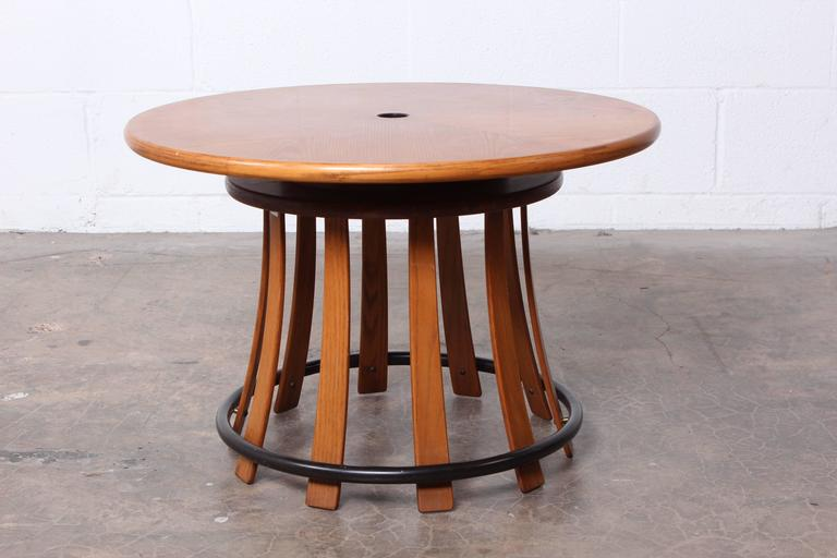 Mid-20th Century Toad Stool Table by Edward Wormley for Dunbar For Sale