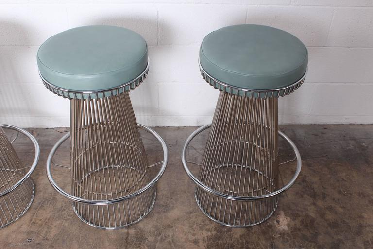 Set Of Four Chrome Barstools For Sale At 1stdibs