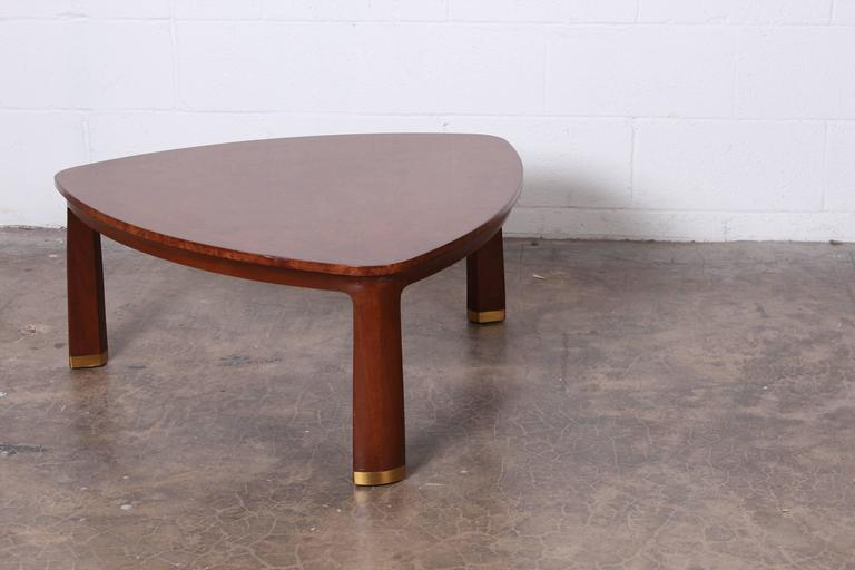 Triangle Coffee Table by Edward Wormley for Dunbar For Sale 4