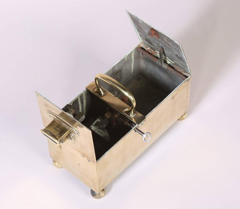 English Brass Honour Tobacco Box 2