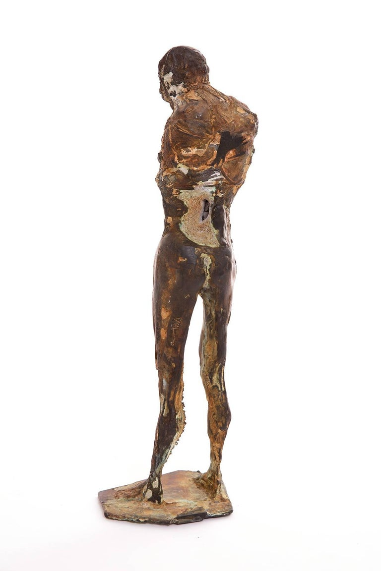 American Bronze Sculpture by Carl Dahl For Sale