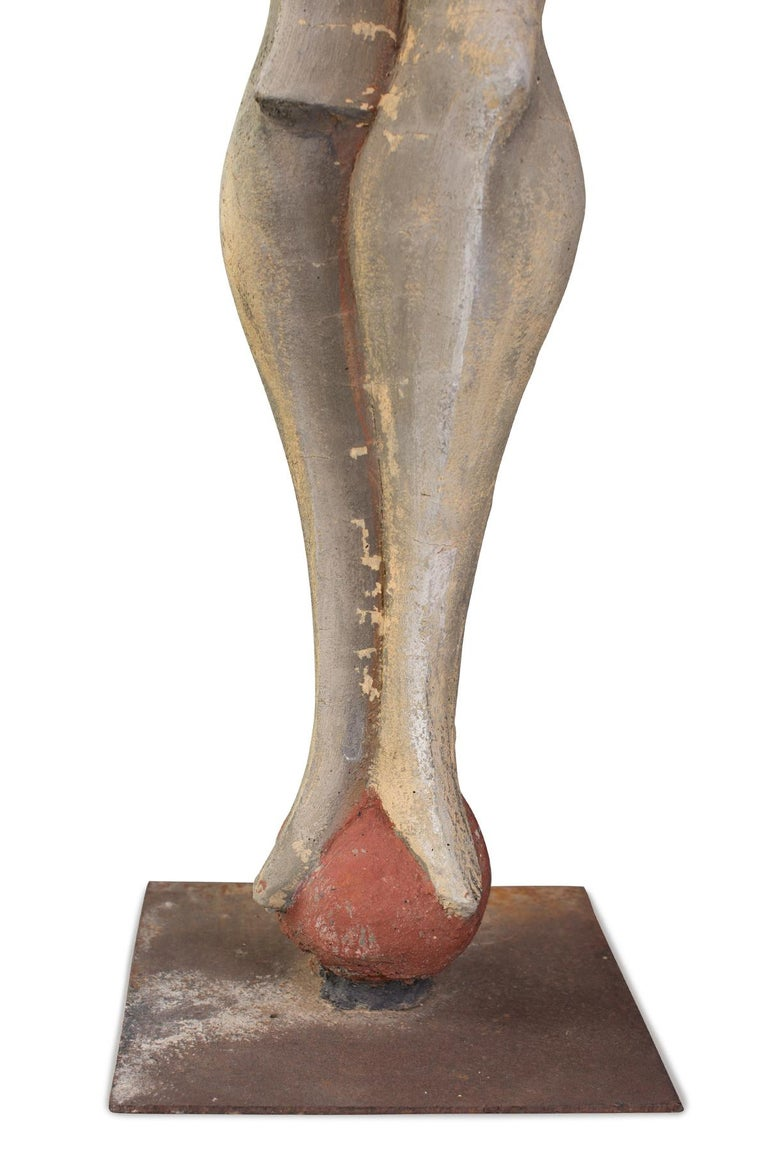American Maxine Kim Stussy Monumental Concrete Sculpture For Sale