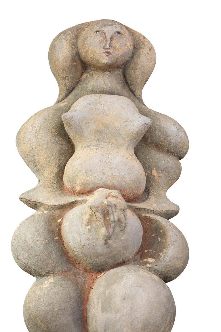Maxine Kim Stussy Monumental Concrete Sculpture In Good Condition For Sale In Phoenix, AZ
