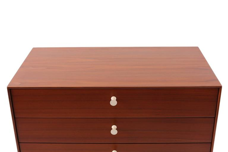 Rare George Nelson Herman Miller Thin Edge Chest For Sale 2