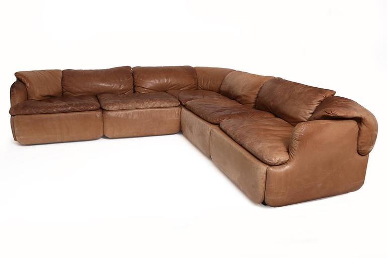 Rare Alberto Rosselli for Saporiti Sectional Sofa 2