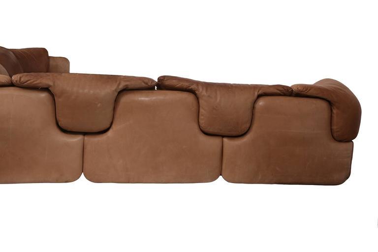Rare Alberto Rosselli for Saporiti Sectional Sofa 3