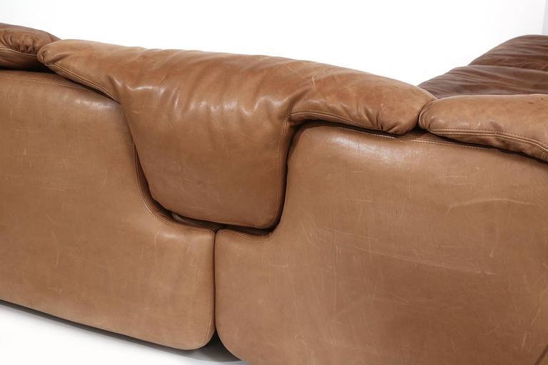Rare Alberto Rosselli for Saporiti Sectional Sofa 5