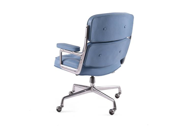 eames for herman miller leather time life chair for sale
