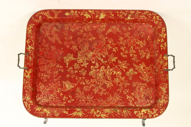 19th Century English Regency Style Tray Table For Sale